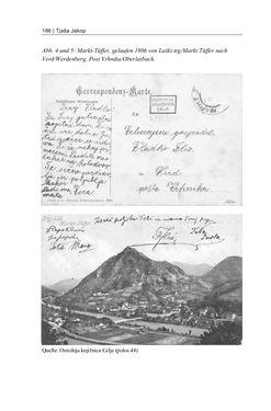 Bild der Seite - 186 - in Bildspuren – Sprachspuren - Postkarten als Quellen zur Mehrsprachigkeit in der späten Habsburger Monarchie