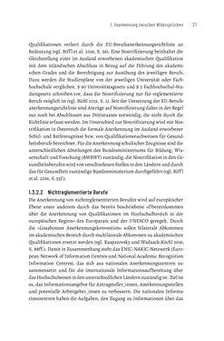 Bild der Seite - 27 - in Bildungs- und Berufsberatung in der Migrationsgesellschaft - Pädagogische Perspektiven auf Beratung zur Anerkennung im Ausland erworbener Qualifikationen