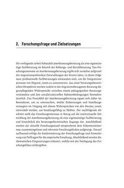Bild der Seite - 31 - in Bildungs- und Berufsberatung in der Migrationsgesellschaft - Pädagogische Perspektiven auf Beratung zur Anerkennung im Ausland erworbener Qualifikationen