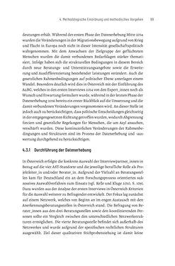 Bild der Seite - 99 - in Bildungs- und Berufsberatung in der Migrationsgesellschaft - Pädagogische Perspektiven auf Beratung zur Anerkennung im Ausland erworbener Qualifikationen