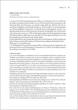 Bild der Seite - 13 - in Biografien bedeutender österreichischer Wissenschafterinnen - »Die Neugier treibt mich, Fragen zu stellen«