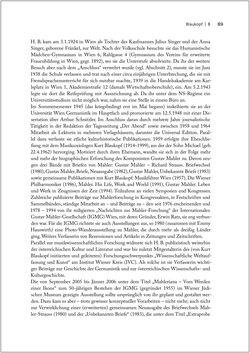 Bild der Seite - 89 - in Biografien bedeutender österreichischer Wissenschafterinnen - »Die Neugier treibt mich, Fragen zu stellen«