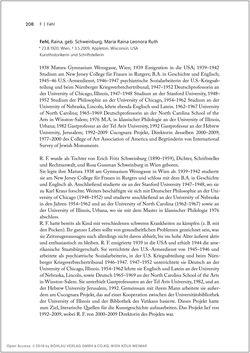 Bild der Seite - 208 - in Biografien bedeutender österreichischer Wissenschafterinnen - »Die Neugier treibt mich, Fragen zu stellen«