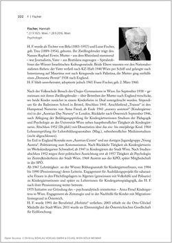 Bild der Seite - 222 - in Biografien bedeutender österreichischer Wissenschafterinnen - »Die Neugier treibt mich, Fragen zu stellen«