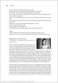 Bild der Seite - 256 - in Biografien bedeutender österreichischer Wissenschafterinnen - »Die Neugier treibt mich, Fragen zu stellen«