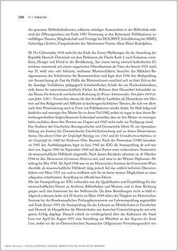 Image of the Page - 288 - in Biografien bedeutender österreichischer Wissenschafterinnen - »Die Neugier treibt mich, Fragen zu stellen«