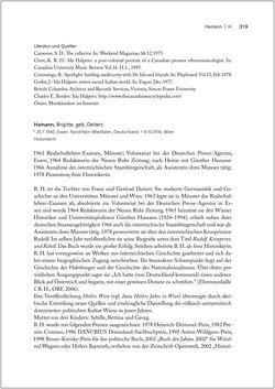 Bild der Seite - 319 - in Biografien bedeutender österreichischer Wissenschafterinnen - »Die Neugier treibt mich, Fragen zu stellen«
