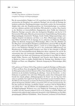 Bild der Seite - 358 - in Biografien bedeutender österreichischer Wissenschafterinnen - »Die Neugier treibt mich, Fragen zu stellen«