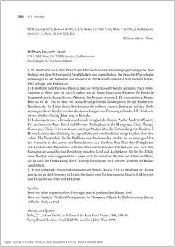 Bild der Seite - 364 - in Biografien bedeutender österreichischer Wissenschafterinnen - »Die Neugier treibt mich, Fragen zu stellen«