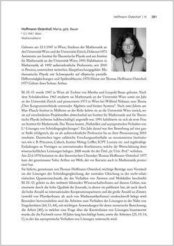 Bild der Seite - 381 - in Biografien bedeutender österreichischer Wissenschafterinnen - »Die Neugier treibt mich, Fragen zu stellen«
