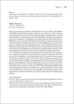 Bild der Seite - 409 - in Biografien bedeutender österreichischer Wissenschafterinnen - »Die Neugier treibt mich, Fragen zu stellen«