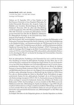 Bild der Seite - 423 - in Biografien bedeutender österreichischer Wissenschafterinnen - »Die Neugier treibt mich, Fragen zu stellen«