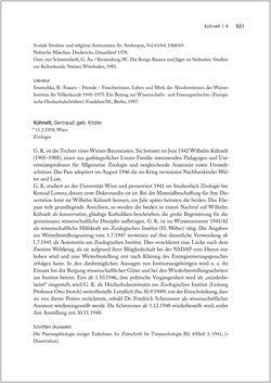 Bild der Seite - 521 - in Biografien bedeutender österreichischer Wissenschafterinnen - »Die Neugier treibt mich, Fragen zu stellen«