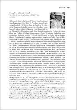 Bild der Seite - 693 - in Biografien bedeutender österreichischer Wissenschafterinnen - »Die Neugier treibt mich, Fragen zu stellen«