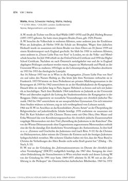 Bild der Seite - 874 - in Biografien bedeutender österreichischer Wissenschafterinnen - »Die Neugier treibt mich, Fragen zu stellen«