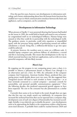 Bild der Seite - 44 - in Cyborg Mind - What Brain–Computer and Mind–Cyberspace Interfaces Mean for Cyberneuroethics