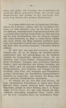 Bild der Seite - VII - in Die nordöstliche Steiermark - Eine Wanderung durch vergessene Lande