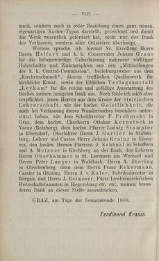 Bild der Seite - VIII - in Die nordöstliche Steiermark - Eine Wanderung durch vergessene Lande