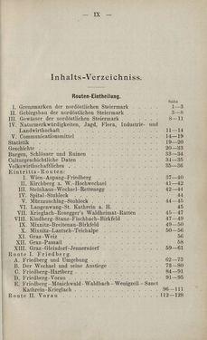 Bild der Seite - IX - in Die nordöstliche Steiermark - Eine Wanderung durch vergessene Lande