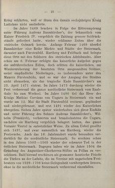 Bild der Seite - 25 - in Die nordöstliche Steiermark - Eine Wanderung durch vergessene Lande