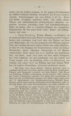 Bild der Seite - 92 - in Die nordöstliche Steiermark - Eine Wanderung durch vergessene Lande
