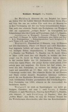 Bild der Seite - 110 - in Die nordöstliche Steiermark - Eine Wanderung durch vergessene Lande