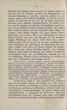 Bild der Seite - 194 - in Die nordöstliche Steiermark - Eine Wanderung durch vergessene Lande