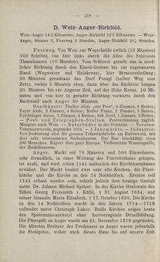 Bild der Seite - 218 - in Die nordöstliche Steiermark - Eine Wanderung durch vergessene Lande
