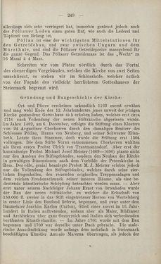 Bild der Seite - 249 - in Die nordöstliche Steiermark - Eine Wanderung durch vergessene Lande