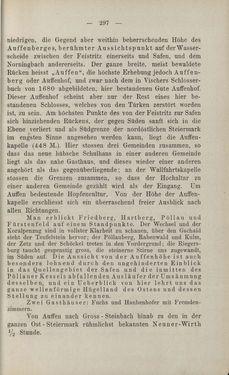 Bild der Seite - 297 - in Die nordöstliche Steiermark - Eine Wanderung durch vergessene Lande