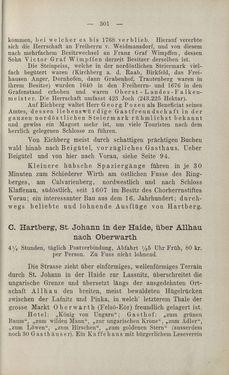 Bild der Seite - 301 - in Die nordöstliche Steiermark - Eine Wanderung durch vergessene Lande