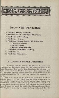 Bild der Seite - 307 - in Die nordöstliche Steiermark - Eine Wanderung durch vergessene Lande