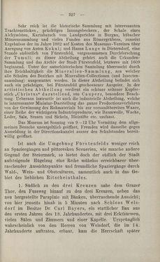 Bild der Seite - 327 - in Die nordöstliche Steiermark - Eine Wanderung durch vergessene Lande
