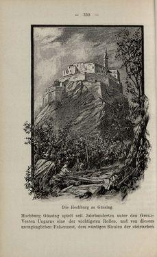Bild der Seite - 330 - in Die nordöstliche Steiermark - Eine Wanderung durch vergessene Lande
