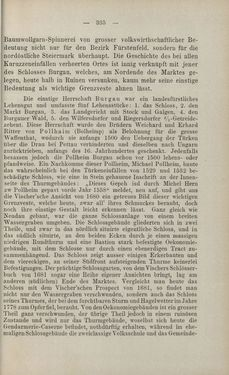 Bild der Seite - 335 - in Die nordöstliche Steiermark - Eine Wanderung durch vergessene Lande
