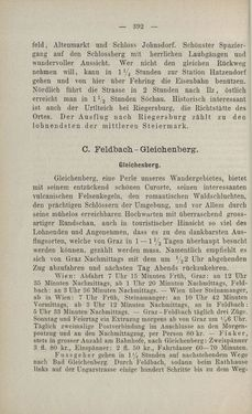 Bild der Seite - 392 - in Die nordöstliche Steiermark - Eine Wanderung durch vergessene Lande
