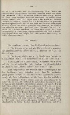 Bild der Seite - 399 - in Die nordöstliche Steiermark - Eine Wanderung durch vergessene Lande