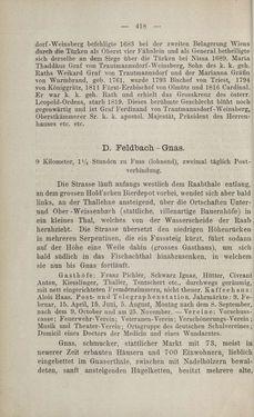Bild der Seite - 418 - in Die nordöstliche Steiermark - Eine Wanderung durch vergessene Lande