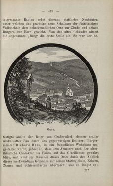 Bild der Seite - 419 - in Die nordöstliche Steiermark - Eine Wanderung durch vergessene Lande