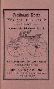 Bild der Seite - XXVII - in Die nordöstliche Steiermark - Eine Wanderung durch vergessene Lande