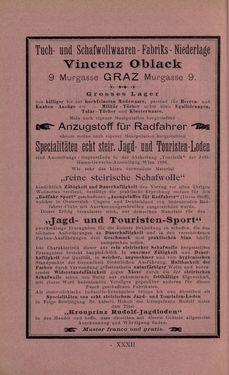 Bild der Seite - XXXII - in Die nordöstliche Steiermark - Eine Wanderung durch vergessene Lande