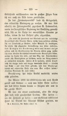 Bild der Seite - 225 - in Die Waffen nieder! - Eine Lebensgeschichte von Bertha von Suttner, Band 2