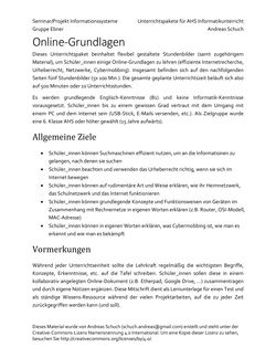 Image of the Page - 1 - in Online-Grundlagen