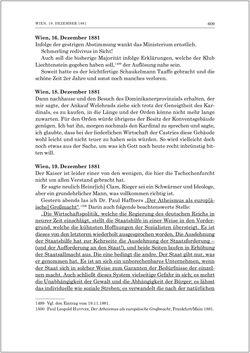 Bild der Seite - 611 - in Die Tagebücher des Grafen Egbert Belcredi 1850–1894