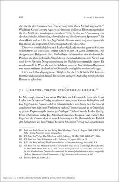 Bild der Seite - 266 - in Ernst Lothar - Schriftsteller, Kritiker, Theaterschaffender