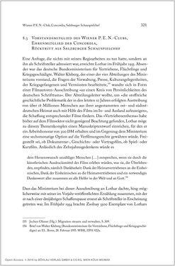 Bild der Seite - 321 - in Ernst Lothar - Schriftsteller, Kritiker, Theaterschaffender