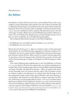 Bild der Seite - 11 - in Erica Tietze-Conrat - Tagebücher, Band I: Der Wiener Vasari (1923–1926)
