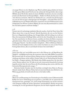 Bild der Seite - 200 - in Erica Tietze-Conrat - Tagebücher, Band I: Der Wiener Vasari (1923–1926)