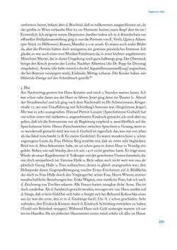 Bild der Seite - 231 - in Erica Tietze-Conrat - Tagebücher, Band I: Der Wiener Vasari (1923–1926)