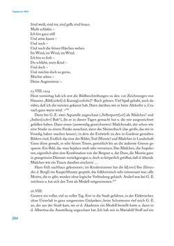 Bild der Seite - 254 - in Erica Tietze-Conrat - Tagebücher, Band I: Der Wiener Vasari (1923–1926)